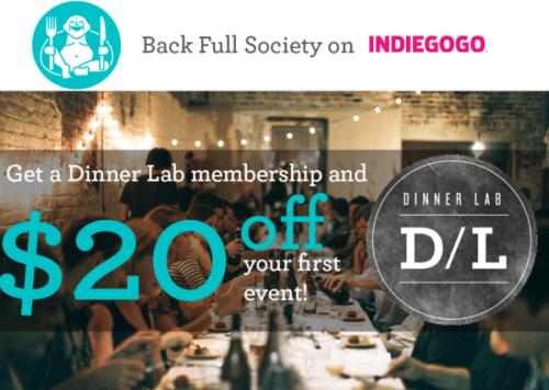 dinnerlab full society partnership