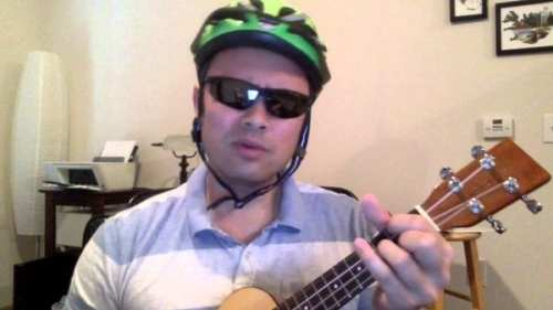 Green Helmet Ukelele Guy/YouTube