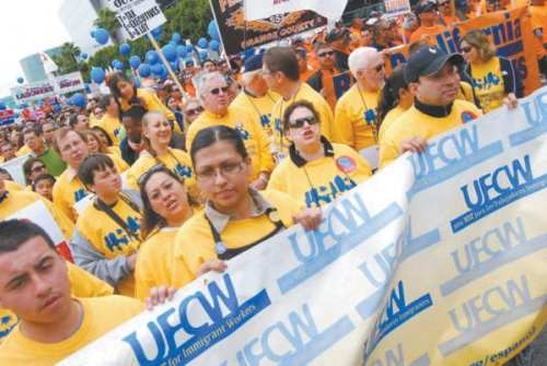 UFCW workers.