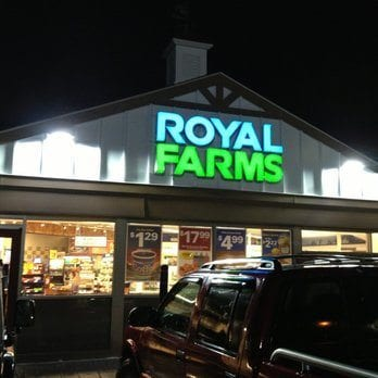 Royal Farms in Parkville.