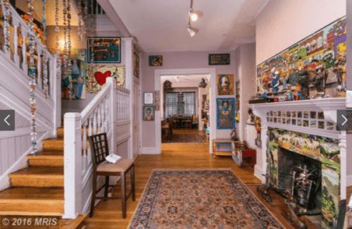 1002 N. Calvert interior hallway
