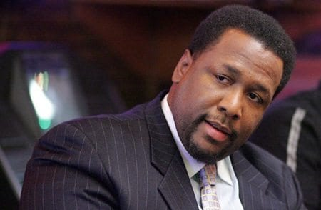 """Wendell Pierce as """"Bunk"""" Moreland in The Wire."""