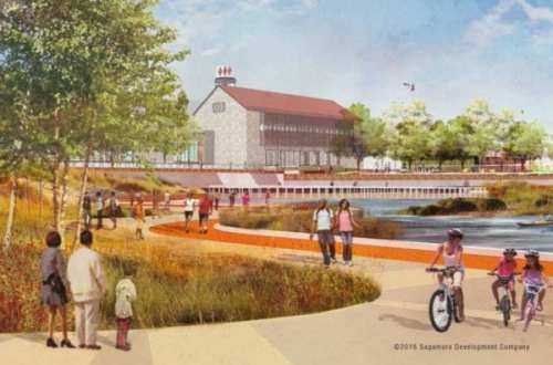 Port Covington Waterfront Rendering 030916