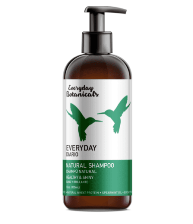 Everyday Botanicals is a natural hair care product without synthetic fragrances, petrochemicals, parabens and sulfates.