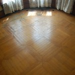 Parquet floors, Bolton Hill Rowhouse