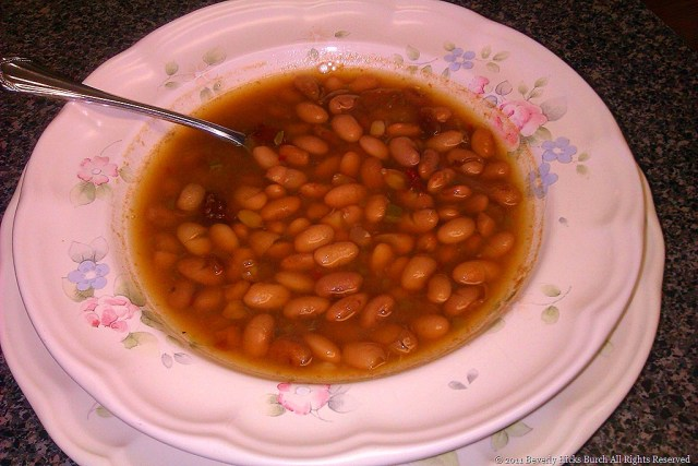 Bev's Version of Shiner Bock Beans