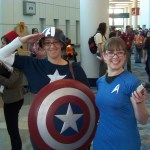 Captain American and Star Trek Cosplay - WonderCon 2012