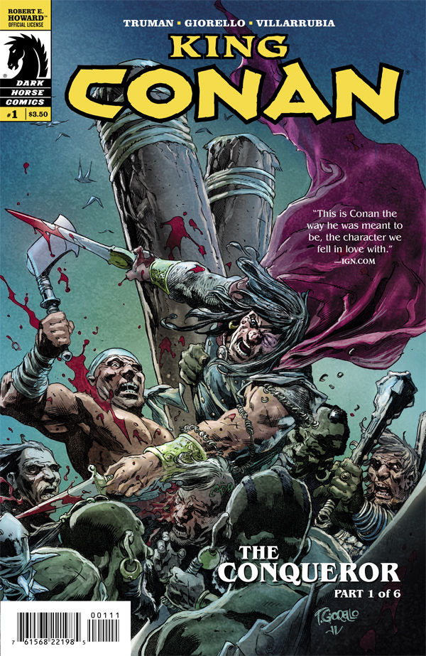 Review - King Conan: The Conqueror Part 1 of 6