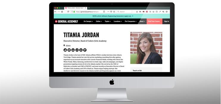 Titania Jordan - Band of Coders