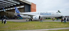 MSN 6101. First Airbus A320neo. Photo courtesy Airbus.