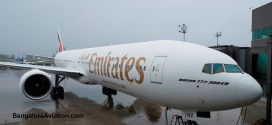 Emirates takes delivery of it's 100th Boeing 777-300ER