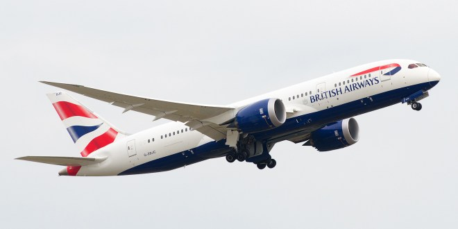 British Airways to start Boeing 787 service to Chennai