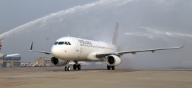Photos: Vistara unveils its first Airbus A320 in official livery