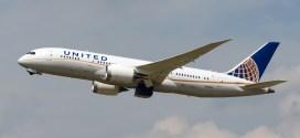 United Airlines Boeing 787 N29907. Photo copyright Vedant Agarwal.