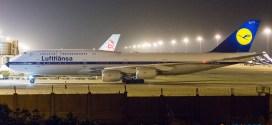 Lufthansa Boeing 747-8i D-ABYT.