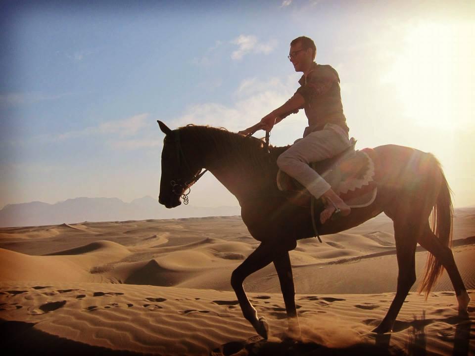 Mes tous premiers pas dans le désert (Dasht-e Kavir, IRAN)