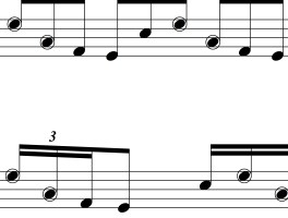 Nasty Lick 71: sixteenth note triplets in groups of five
