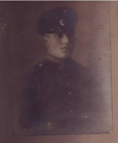 Митьо Петков във военното училище в София - 05.09.1927