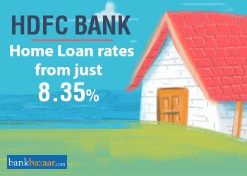 HDFC Home Loan – Interest Rate @ 8.35%, Eligibility, EMI Calculator