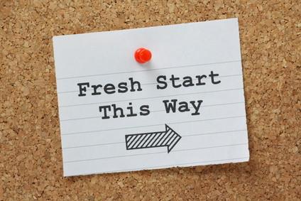 Get a Fresh Start
