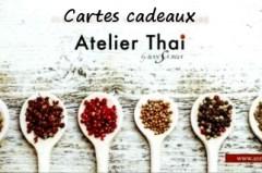 Carte cadeau Atelier Thai (Page d'accueil)