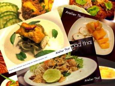 Patchwork plats Atelier Thai