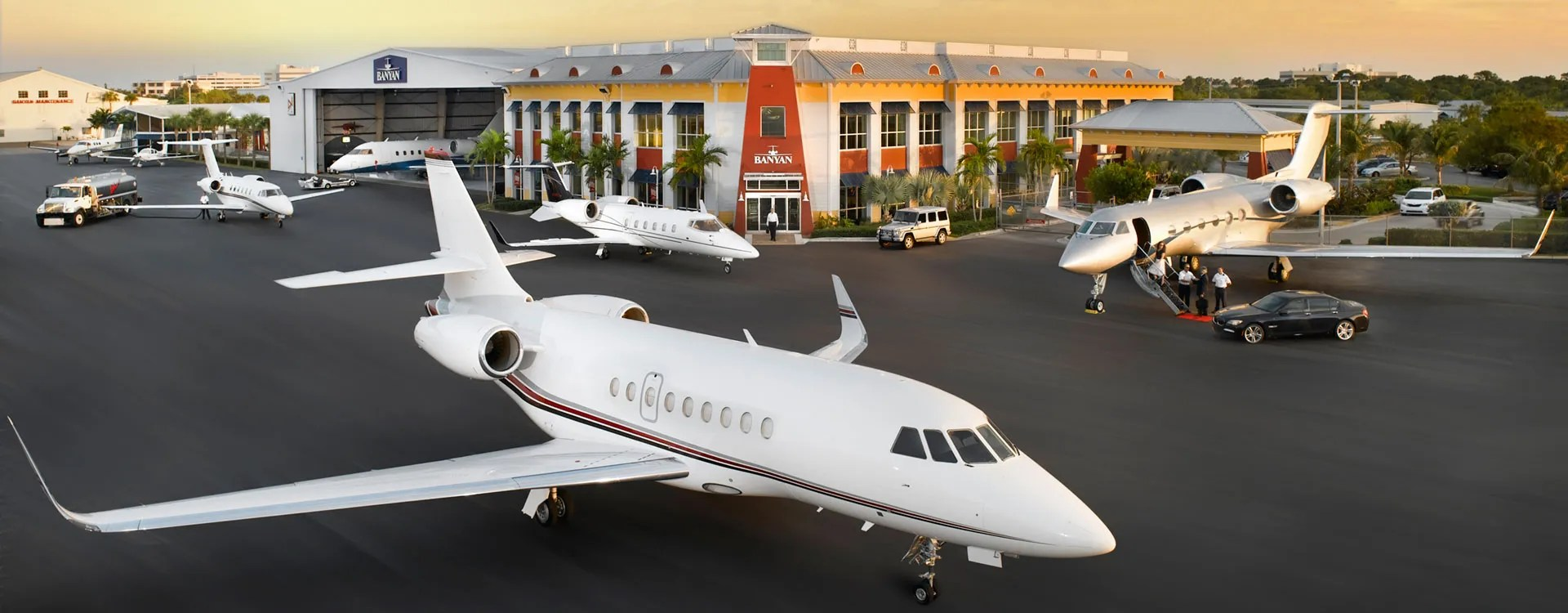 South Florida FBO Voted #1 - Banyan Air Service