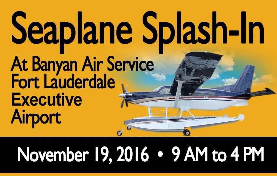 Seaplane Splash-In Event
