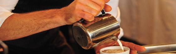 3 ottobre Caffetteria, Cappuccino e Latte Art