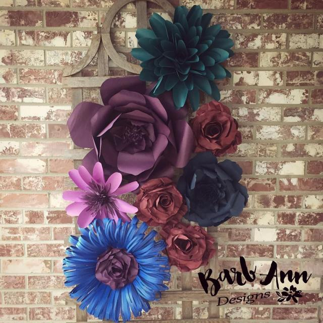 My new favorite color combo paperflowers giantpaperflower paperflowerbackdrop weddingbackdrop nurserydecorhellip