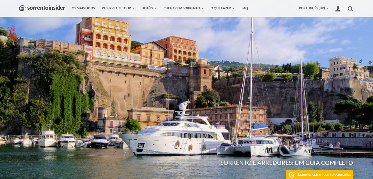 SorrentoInsider in Portoghese