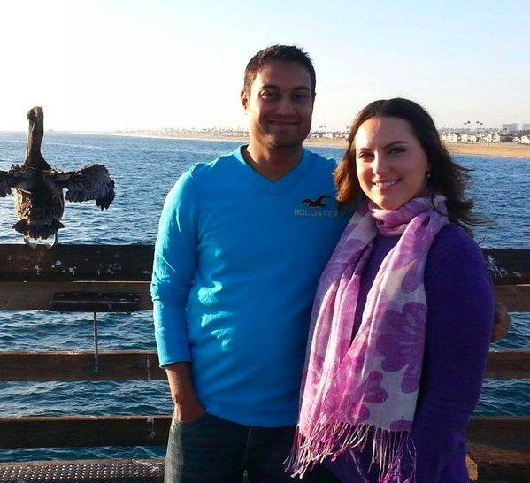 The Happy Couple: Syed Farrok & Tashfeen Malik