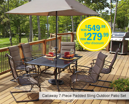 looking for great patio furniture meijers c