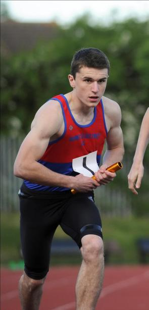 Liam Thompson - Club record holder for 200m and 400m