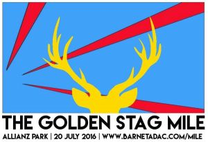 Golden Stag Mile 2016 – Final instructions and start lists