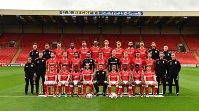 Barnsley Football Club Official Team Photo 2017/18 - News - Barnsley Football Club