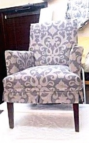 Custom Chair Slipcover