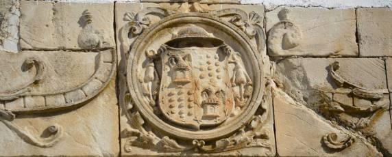 Escudo Abacial Iglesia de la Asunción Priego de Córdoba