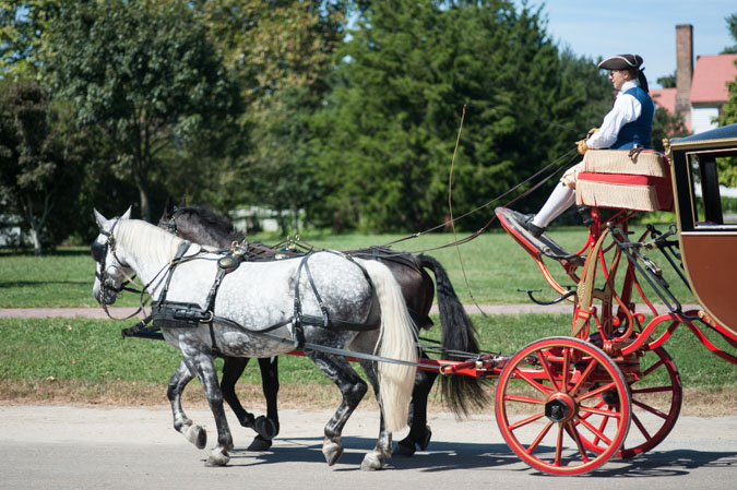 Carage at Colonial Williamsburg