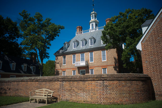 The Governor's Palace at Colonial Williamsburg