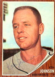 Besides a rare example of a non-personalized autograph, Johnson's Baseball Almanac page is filled with gems you won't find anywhere else. Bookmark the Almanac, and visit before you send your next player letter!