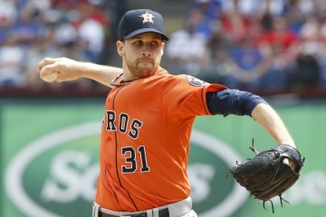 The Astros have won 11-straight with Collin McHugh on the mound.
