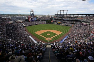 DENVER, CO - JULY 26:  A general view as the Cincinnati Reds take on the Colorado Rockies at Coors Field on July 26, 2015 in Denver, Colorado. The Rockies defeated the Reds 17-7. (Photo by Justin Edmonds/Getty Images)