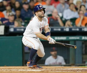 (May 9, 2016 - Source: Bob Levey/Getty Images North America) Altuve has carried the majority of the offense.