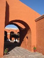 Een van de vele mooie plekjes in het Monasterio Santa Catalina