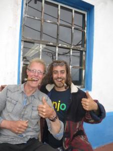 Sam en ik op La Palma