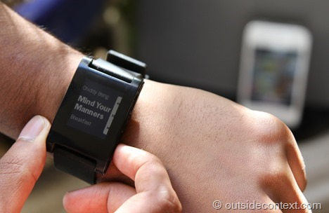 music2 thumb Pebble Smart Watch Review   More than just potential?