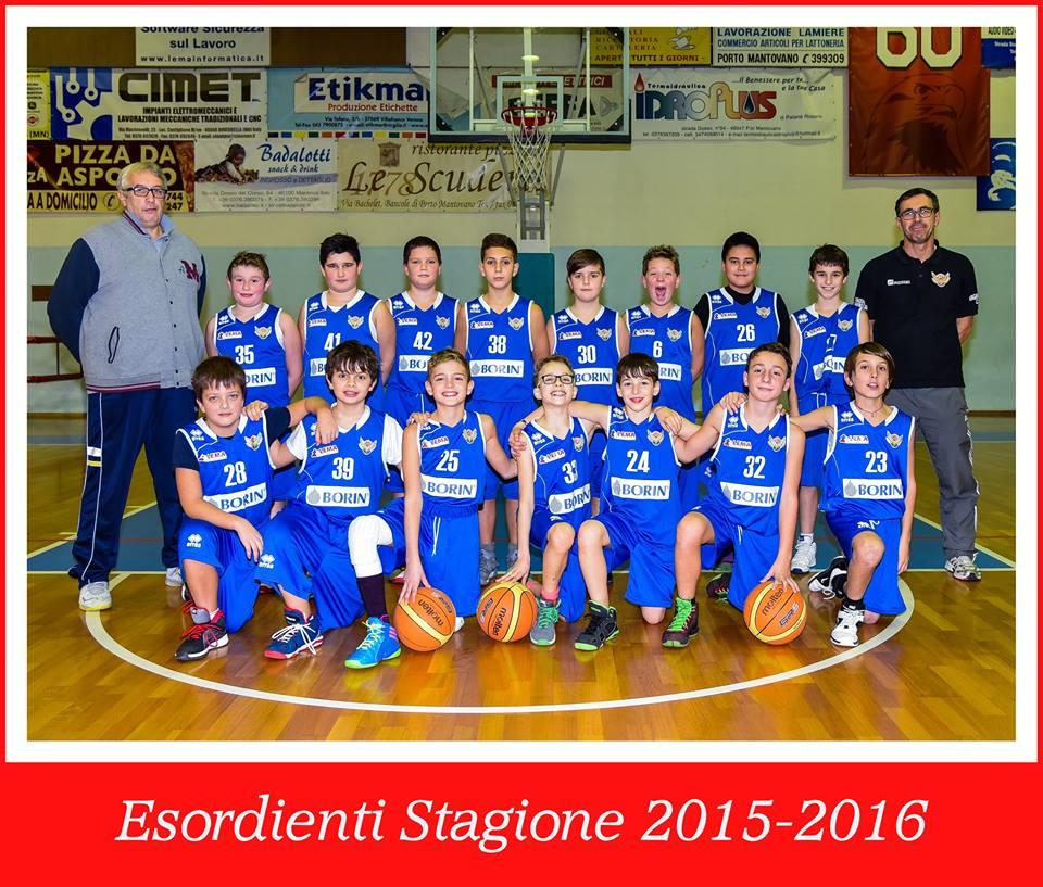 Esordienti 2015-2016