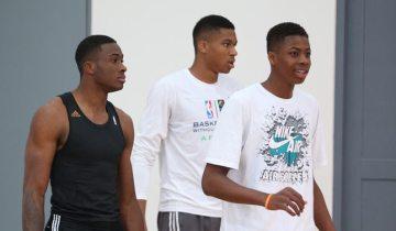 Gli Antetokounmpo insieme in NBA in un futuro prossimo?
