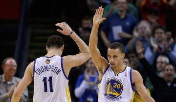 klay thompson Stephen Curry